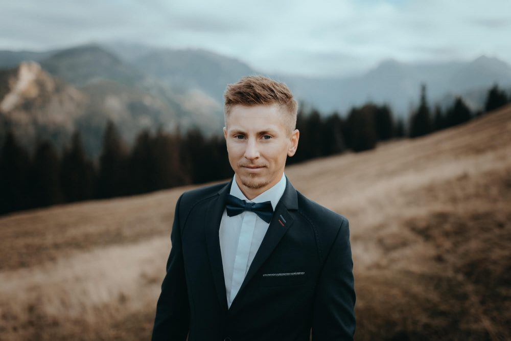Sesja ślubna na Rusinowej Polanie, Artur