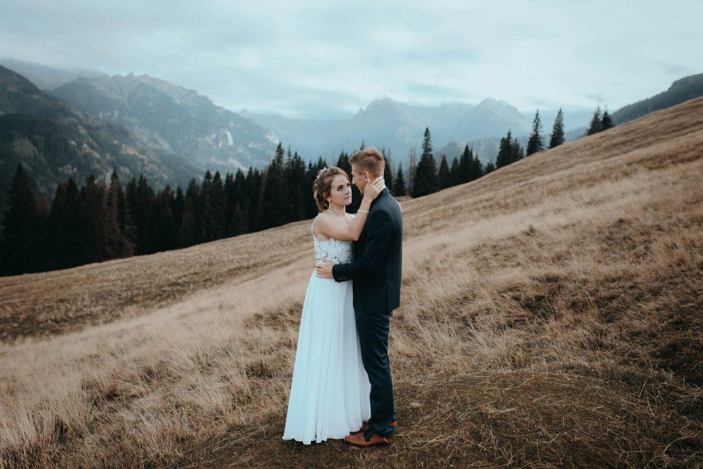 Sesja ślubna na Rusinowej Polanie, Tatry